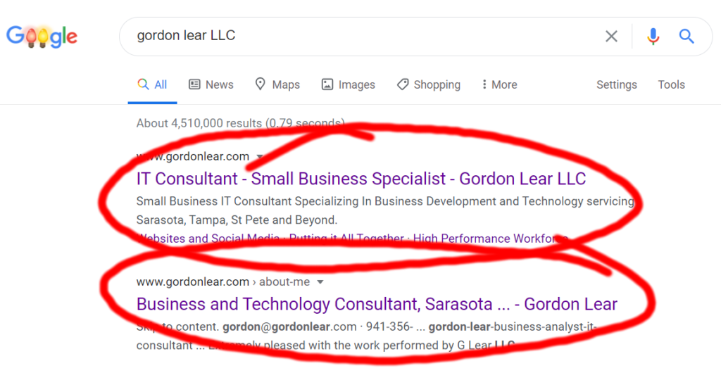 Page Title SEO